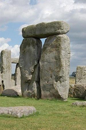 A trilithon at Stonehenge