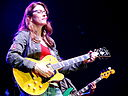 Susan Tedeschi playing D'Angelico guitar (XasDSC05194)