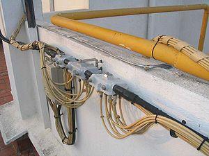 Cable company installation