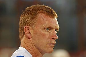 David Moyes, Manager of Everton Football Club....