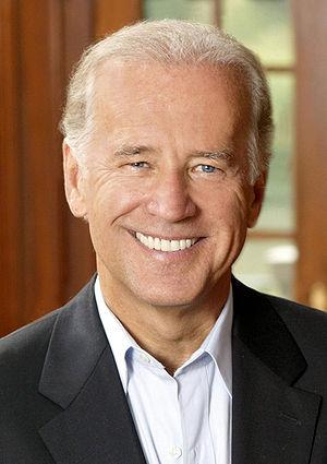 Joe Biden, United States Senator.