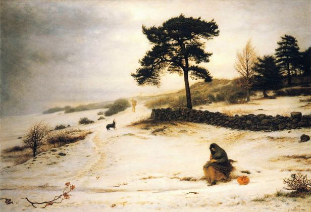 John Everett Millais - Blow, Blow Thou Winter Wind