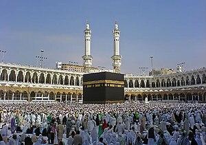 Kaaba í Mekka