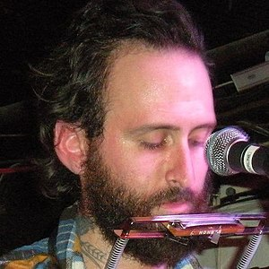 Mat Brooke of Grand Archives playing at The Bo...