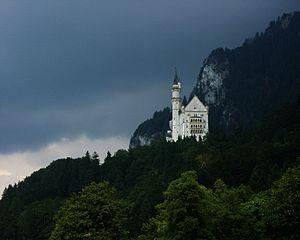 English: Neuschwanstein Castle, Bavaria, Germa...
