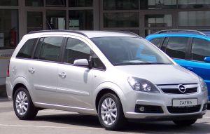 Opel Zafira B  Wikipedia, den frie encyklopædi
