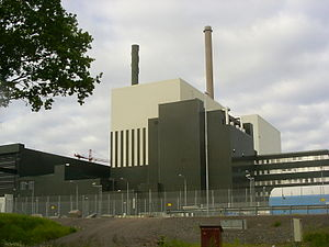 English: Oskarshamn nuclear power plant, reactor 1