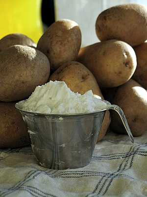 Potato flour.