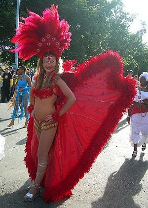Samba dancer.