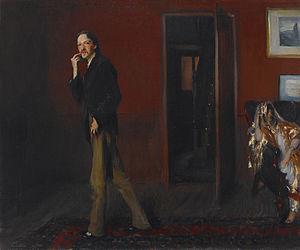 ''Robert Louis Stevenson and His Wife (1885) b...
