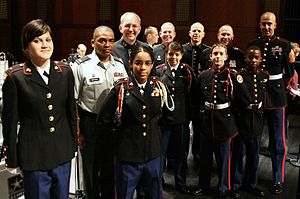 English: As part of The United States Army Fie...