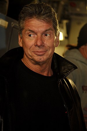 Vince McMahon, the Chairman of the Board of th...