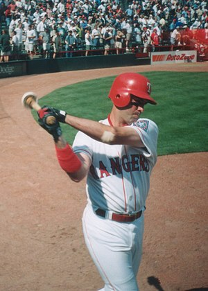 Will Clark in the on-deck circle, 1997 MLB Season.