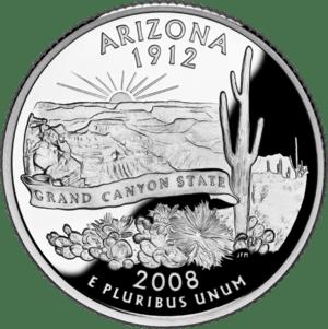 Quarter of Arizona