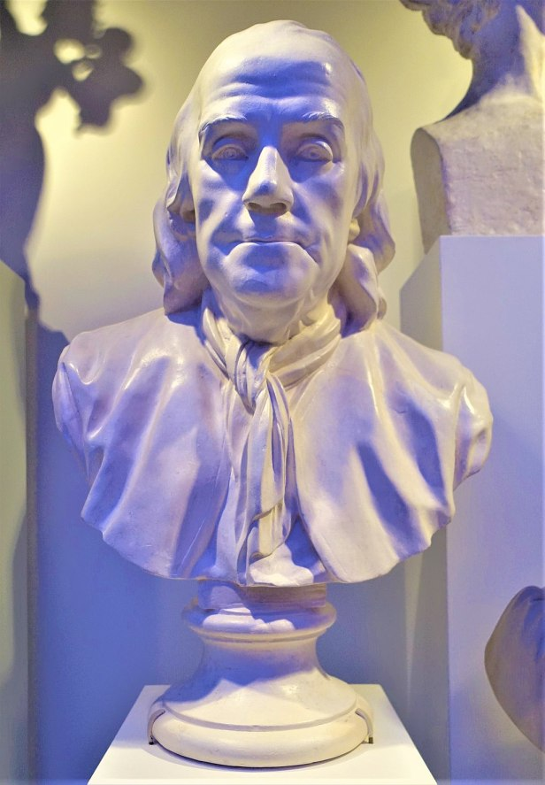 Benjamin Franklin Bust - www.joyofmuseums.com - New-York Historical Society