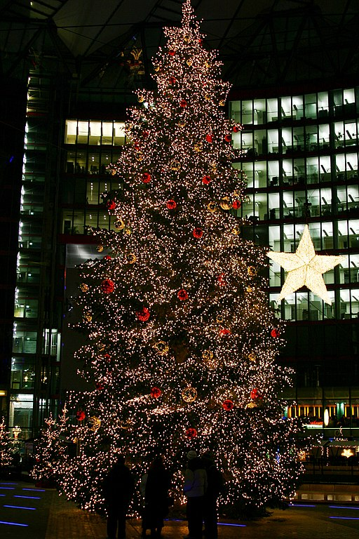 FileChristmas Tree On The Potsdamer Platz Sony Center