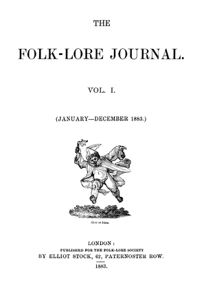 English: Title of the first volume of The Folk...