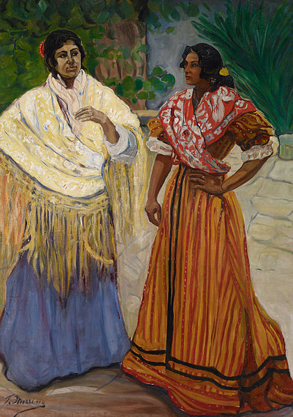 File:Francisco Iturrino Two Gypsies.jpg