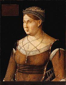 Caterina Cornaro, by Gentile Bellini