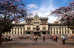 Guatemala's National Palace, now known as the ...