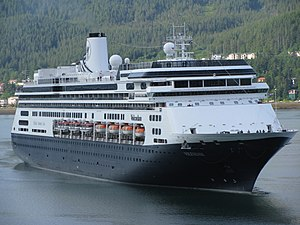 English: MS Volendam in Juneau, AK, USA