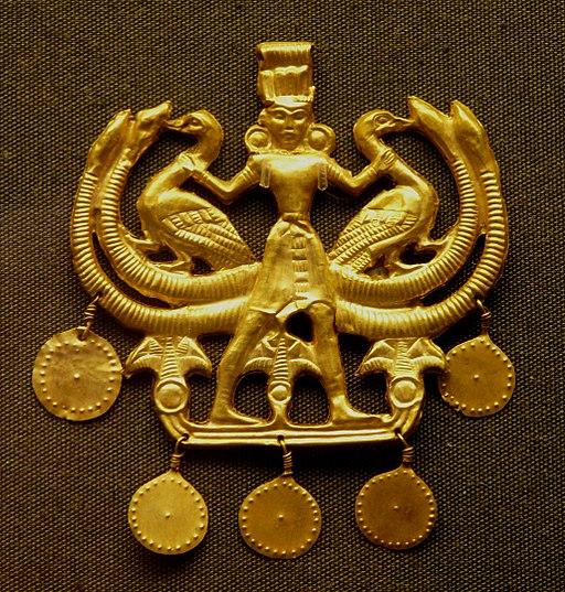 Minoan Master of Animals jewellery