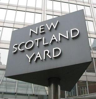 New Scotland Yard sign 3