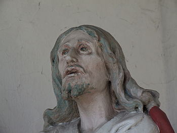 Sculpture - head of Jesus Christ