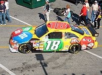 Kyle Busch - One of my least favorite driver personalities, but he knows how to drive.