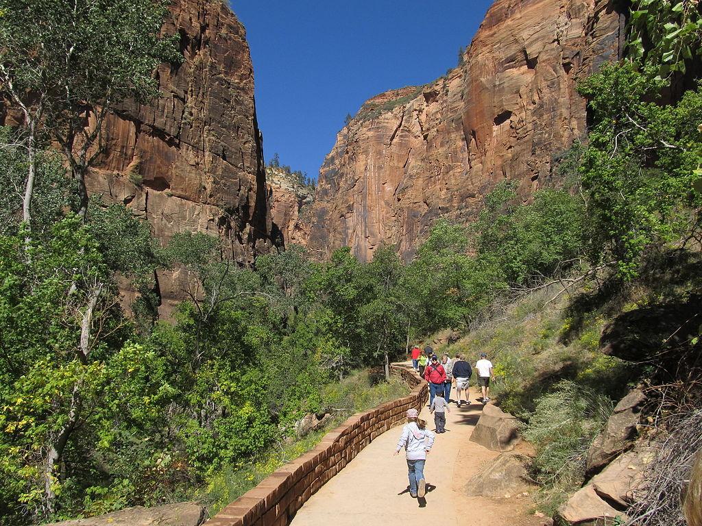 File Riverside Walk To Zion Narrows Zion Canyon Zion