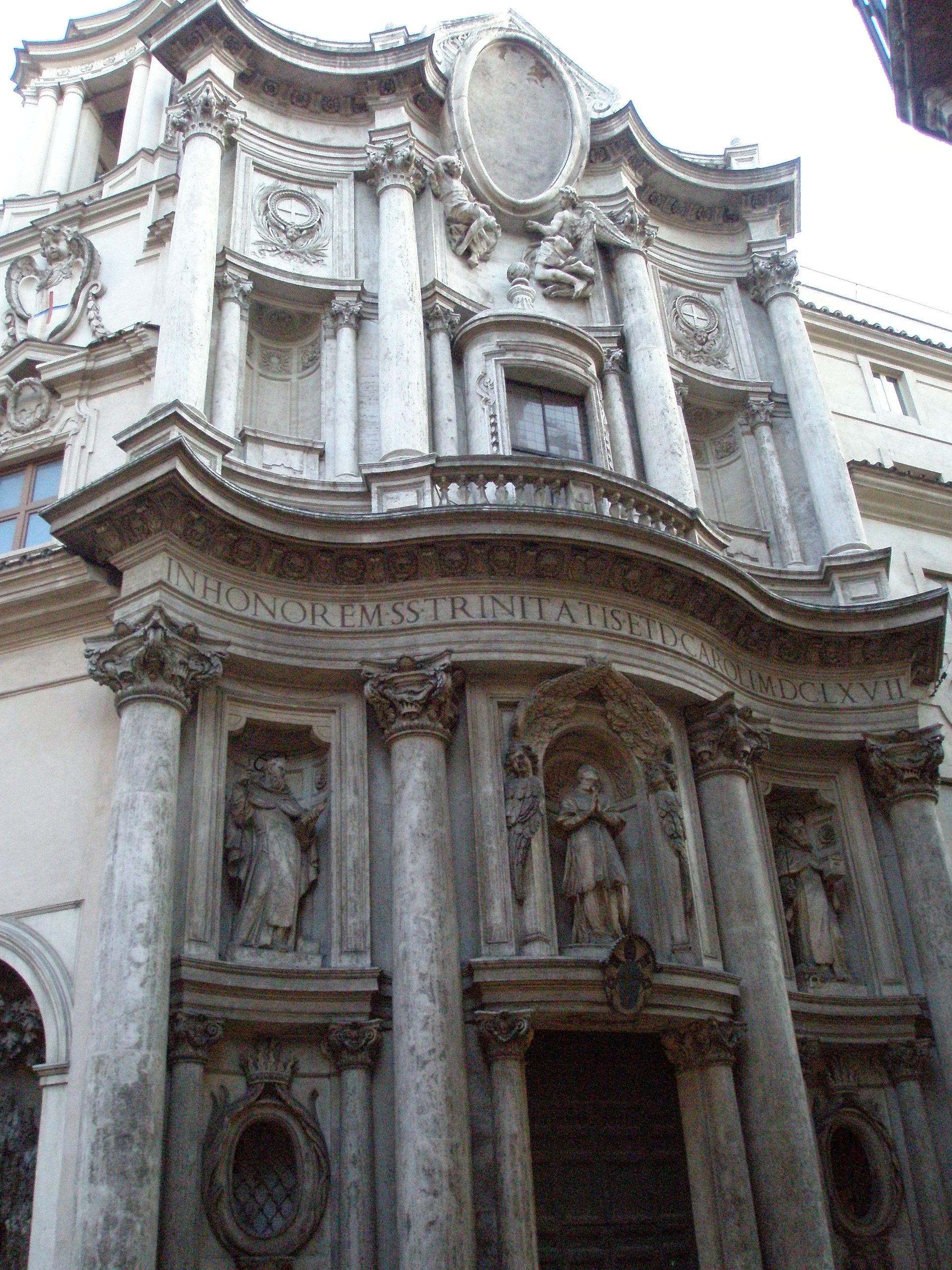 San Carlo Alle Quattro Fontane Wikipedia