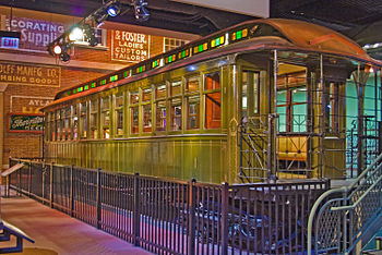 South Side Elevated Railroad car 1, built 1892...