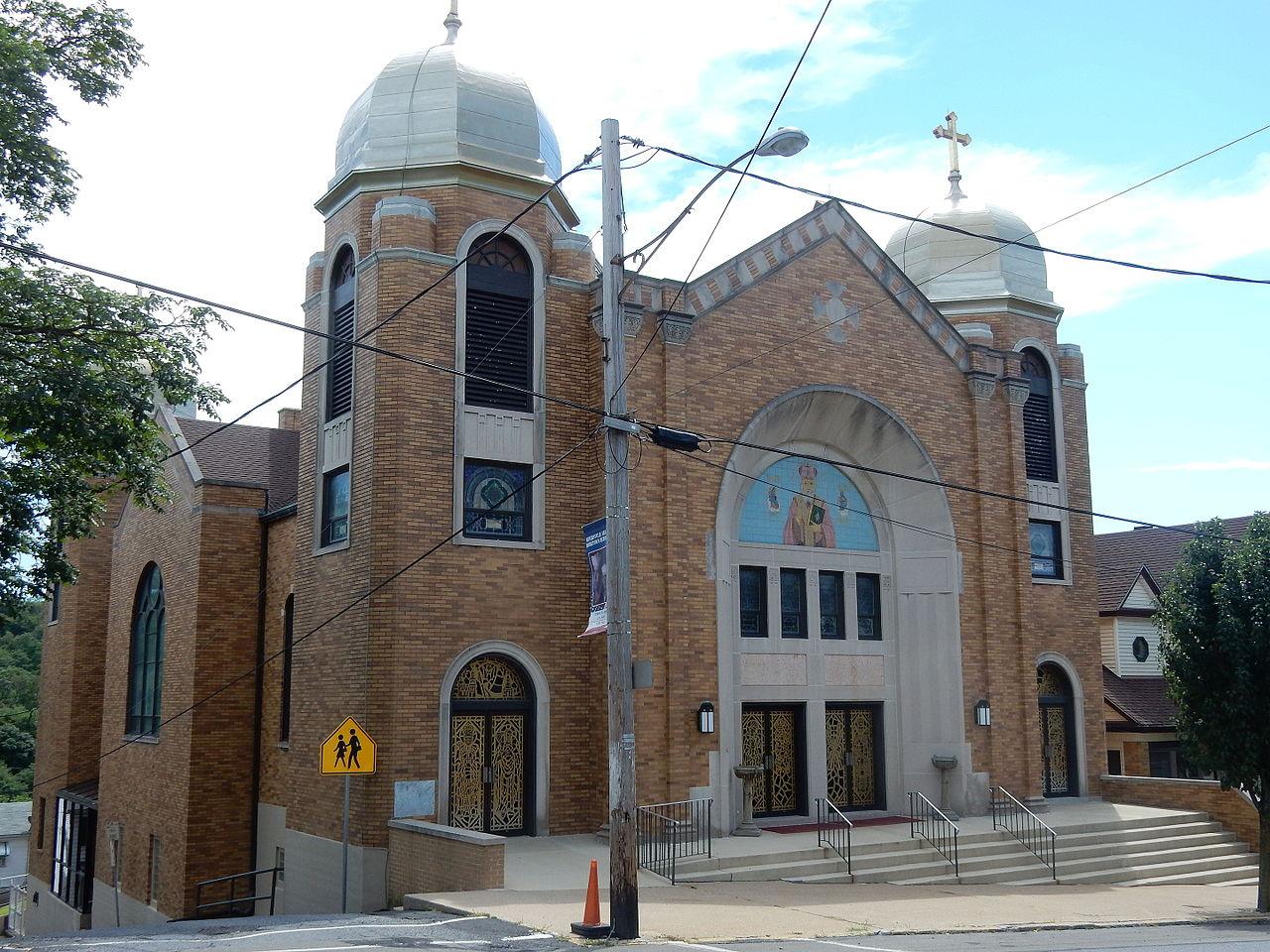 File St Nicholas Ukrainian Catholic Church Minersville Pa