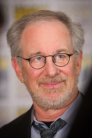 Steven Spielberg at the 2011 San Diego Comic-C...