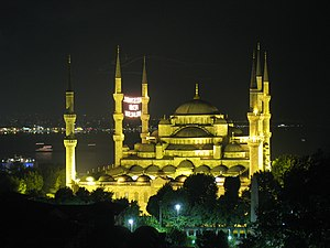 English: Sultanahmet Mosque in Istanbul, Turkey