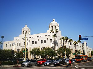 English: U.S. Post Office - Los Angeles Termin...