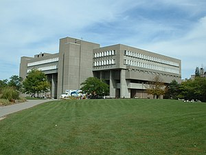 University of Waterloo math & comp sci building