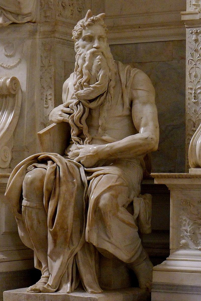 Moisés, de Michelangelo Buonarroti.