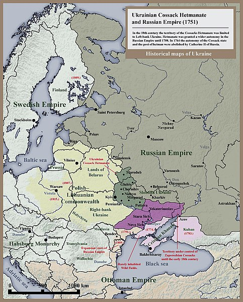 Archivo:007 Ukrainian Cossack Hetmanate and Russian Empire 1751.jpg