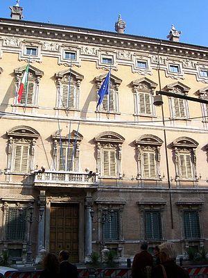 Italiano: Roma - Palazzo Madama (Senato)