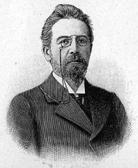 Chekhov in a 1905 illustration.