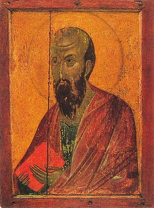 Apostle Paul (Ubisi icon)