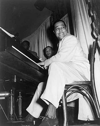 Buck Clayton wrote that Duke Ellington threw p...