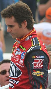 Jeff Gordon in August 2007 a...