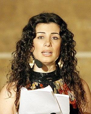 Joumana Haddad on 6 december 2007.