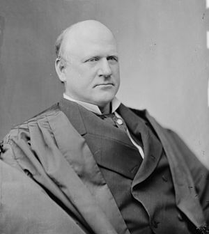English: Judge John Marshall Harlan, Supreme Court