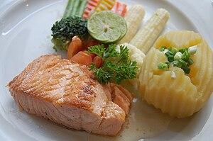 salmon stk.