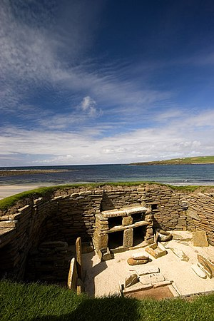 English: Skara Brae Home for awhile, now awe i...