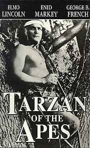 Poster dal film Tarzan of the Apes del 1918