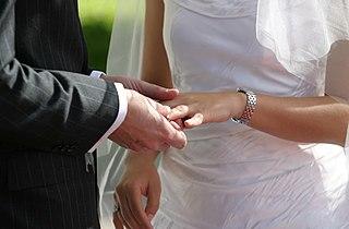 ענידת טבעת